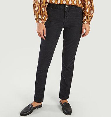 Pantalon velours Pencil