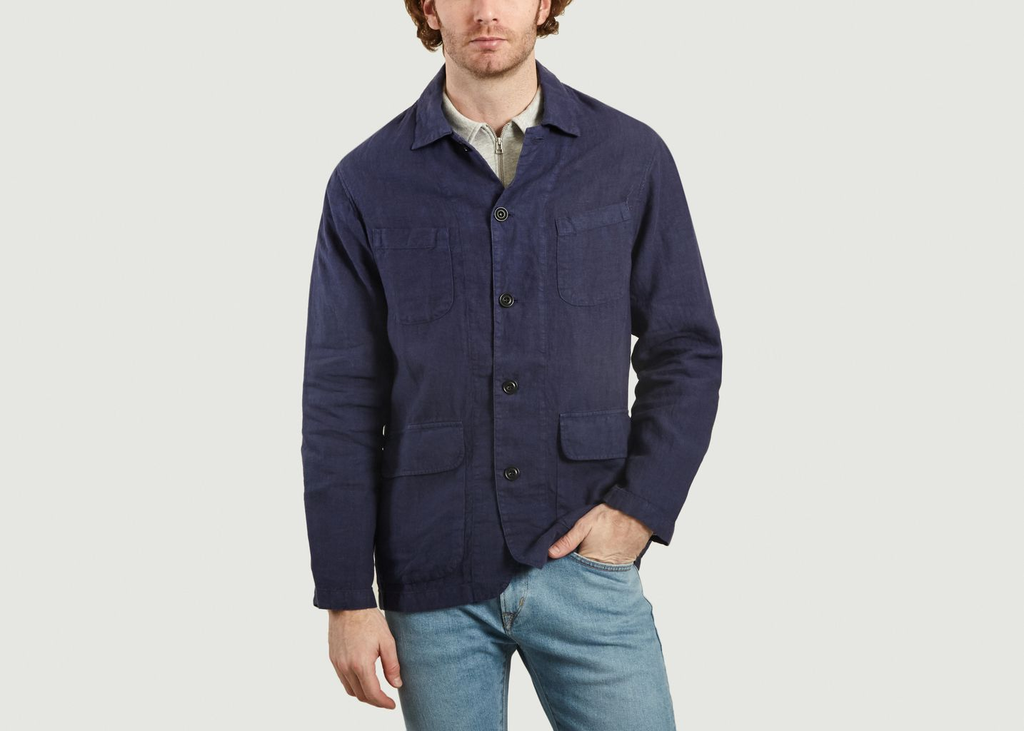 Veste Worker En Lin Jeffrey - Hartford