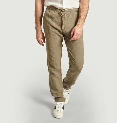 Pantalon en lin Tanker
