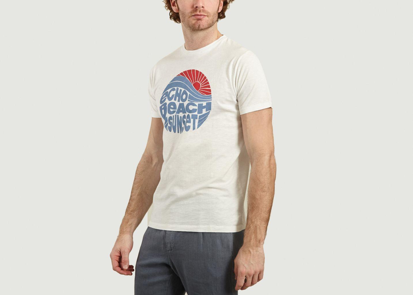 T-Shirt En Coton Imprimé Echo Beach Sunset - Hartford