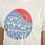 matière T-Shirt En Coton Imprimé Echo Beach Sunset - Hartford