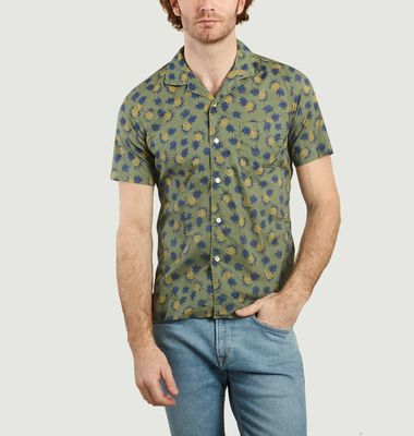 Chemise Manches Courtes Slim Fit Slam Ananas