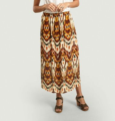 jupe imprimée folklorique Jalouse