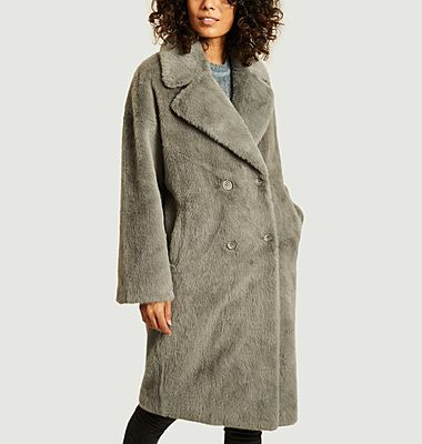 Manteau effet fourrure Vaderi