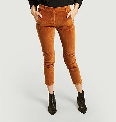 Pantalon en velours Ponette