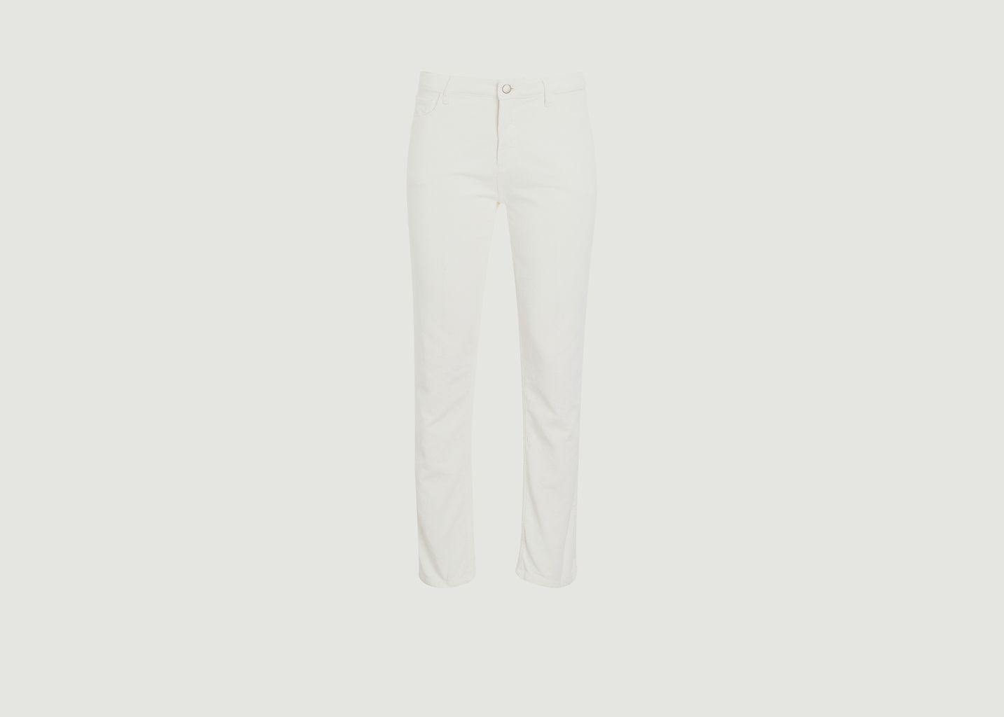 Pantalon droit en velours côtelé Pencil - Hartford
