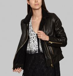 Stewart Leather Jacket