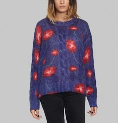 Ellis Red Poppy Jumper