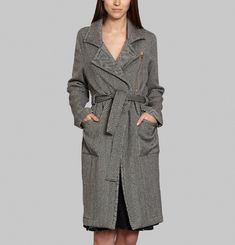 Hallow Trench Coat
