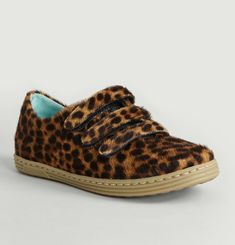 Leopard Print Trainers