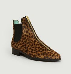 Duchesse Boots Leopard Printed