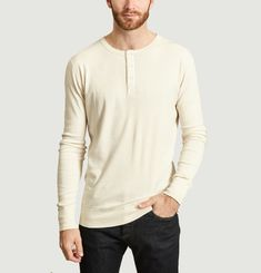 T-Shirt Manches Longues Henley Harri