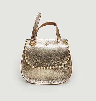 Lena Rock Shiny Shoulder Bag