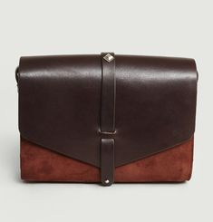 Le Line Leather & Suede Handbag