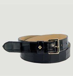 La Turenne Croco belt
