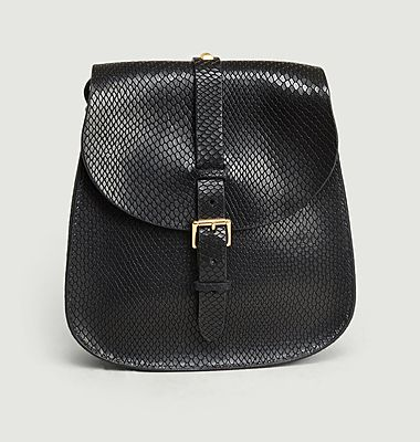 Sac en cuir serpent