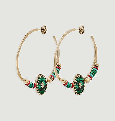 Boucles d'oreilles Sari