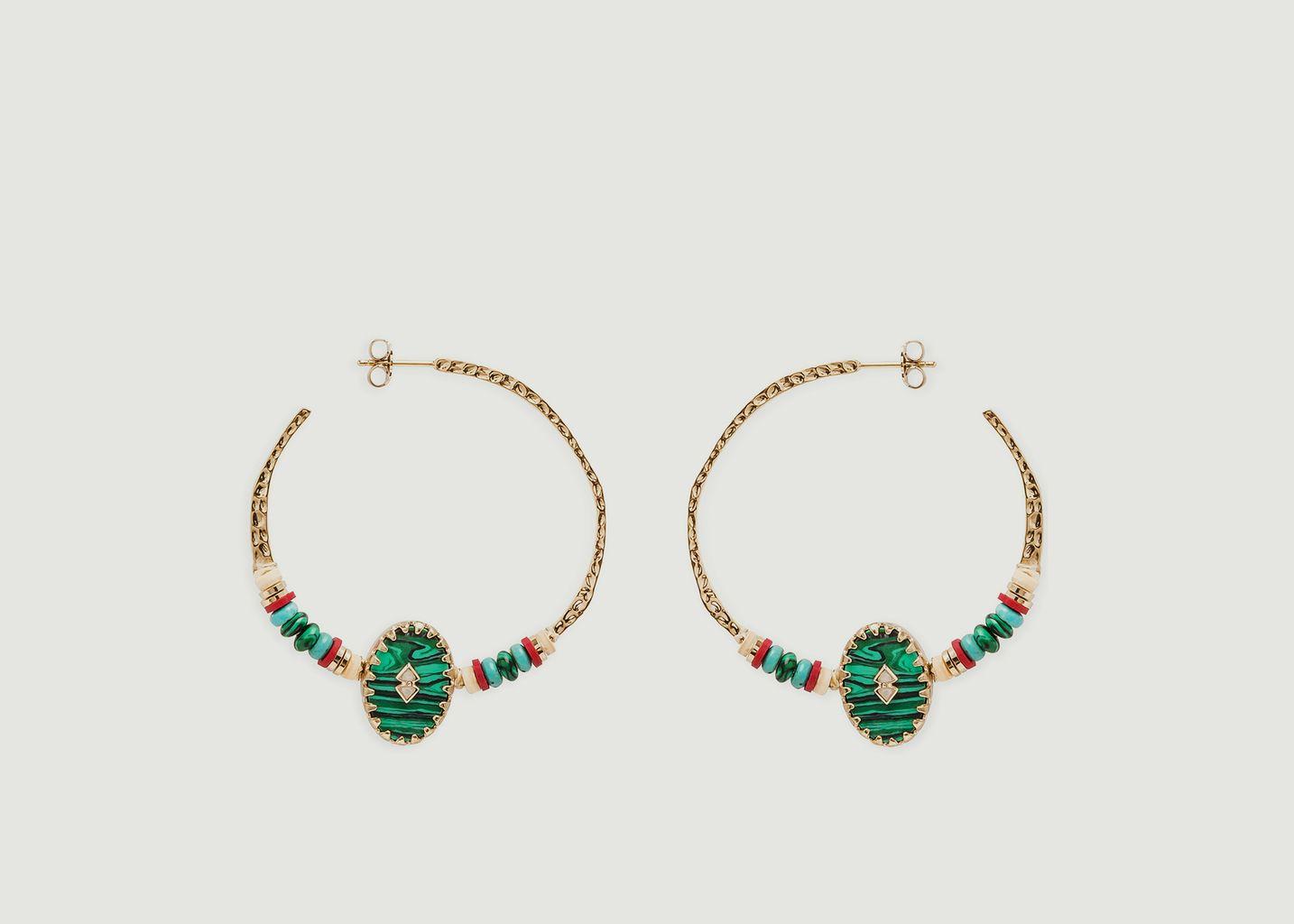 Boucles d'oreilles Sari - Hipanema