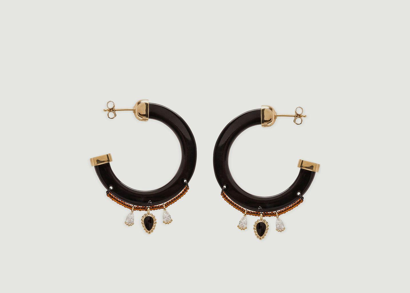Boucles d'oreilles Flavia - Hipanema
