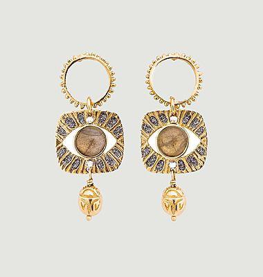 Boucles d'oreilles Alexandrie