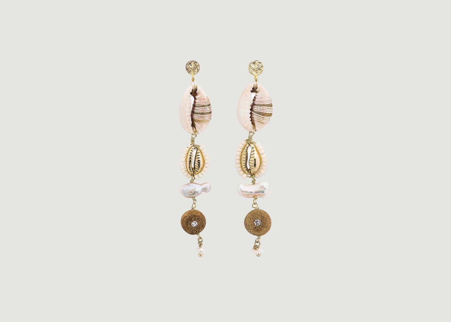Boucles d'oreilles Borneo - Hipanema