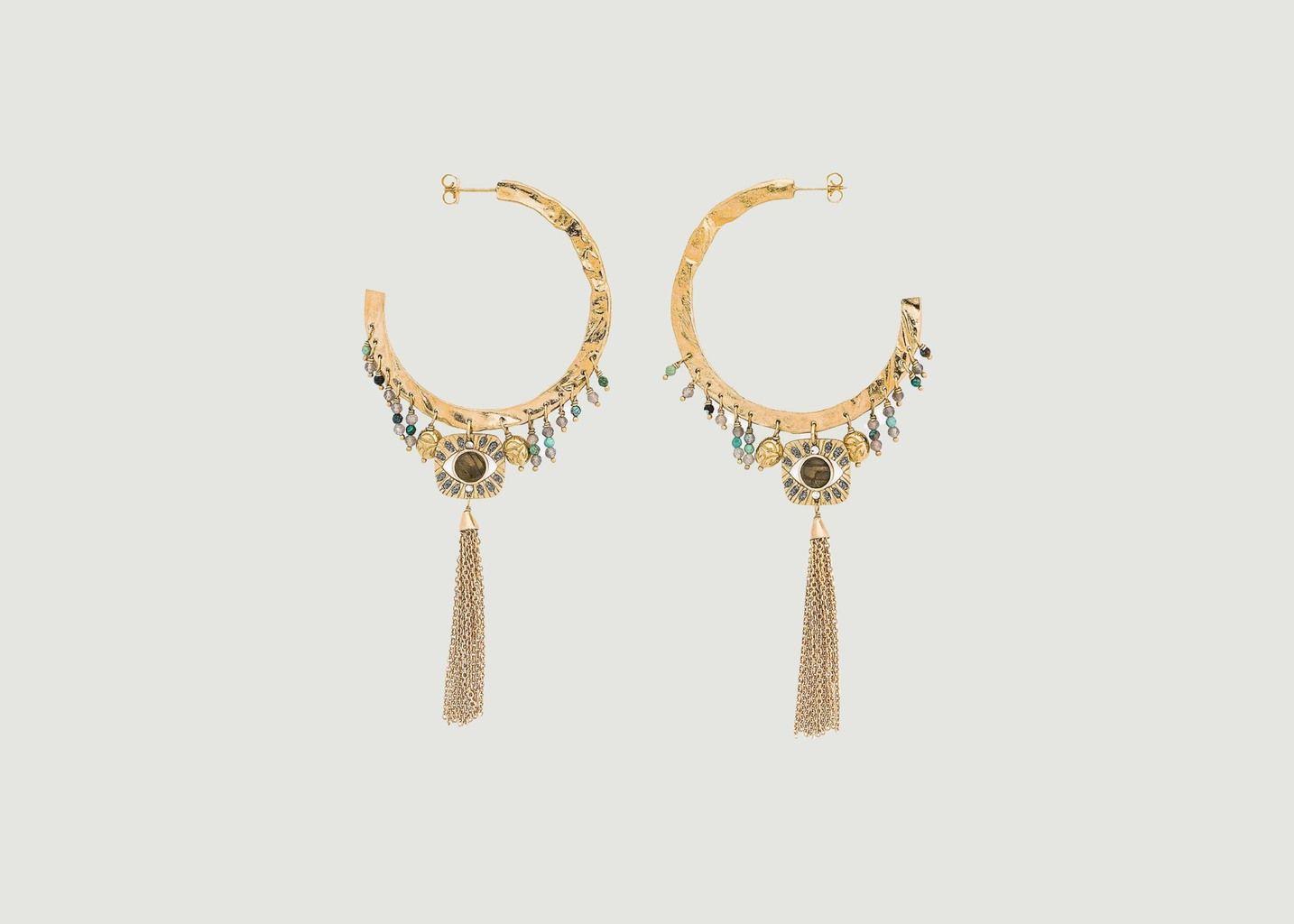 Boucles d'oreilles Cloé - Hipanema