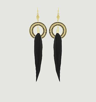 Peak earrings