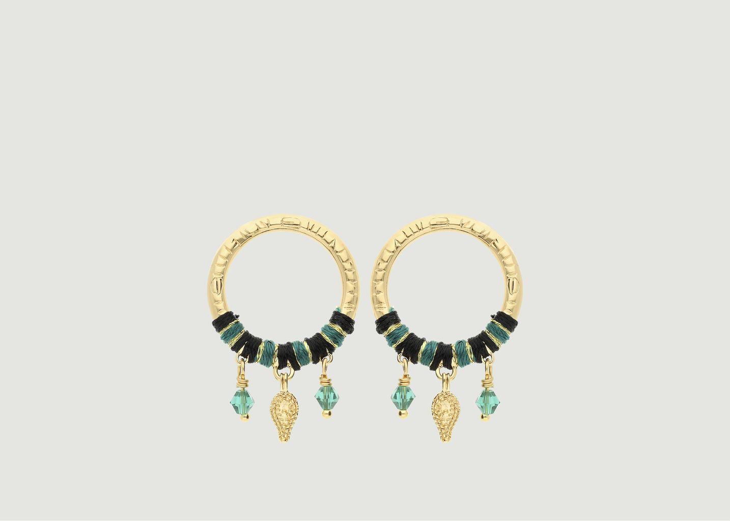 Boucles d'oreilles Daïna - Hipanema