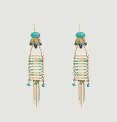 Meena Pendant Earrings