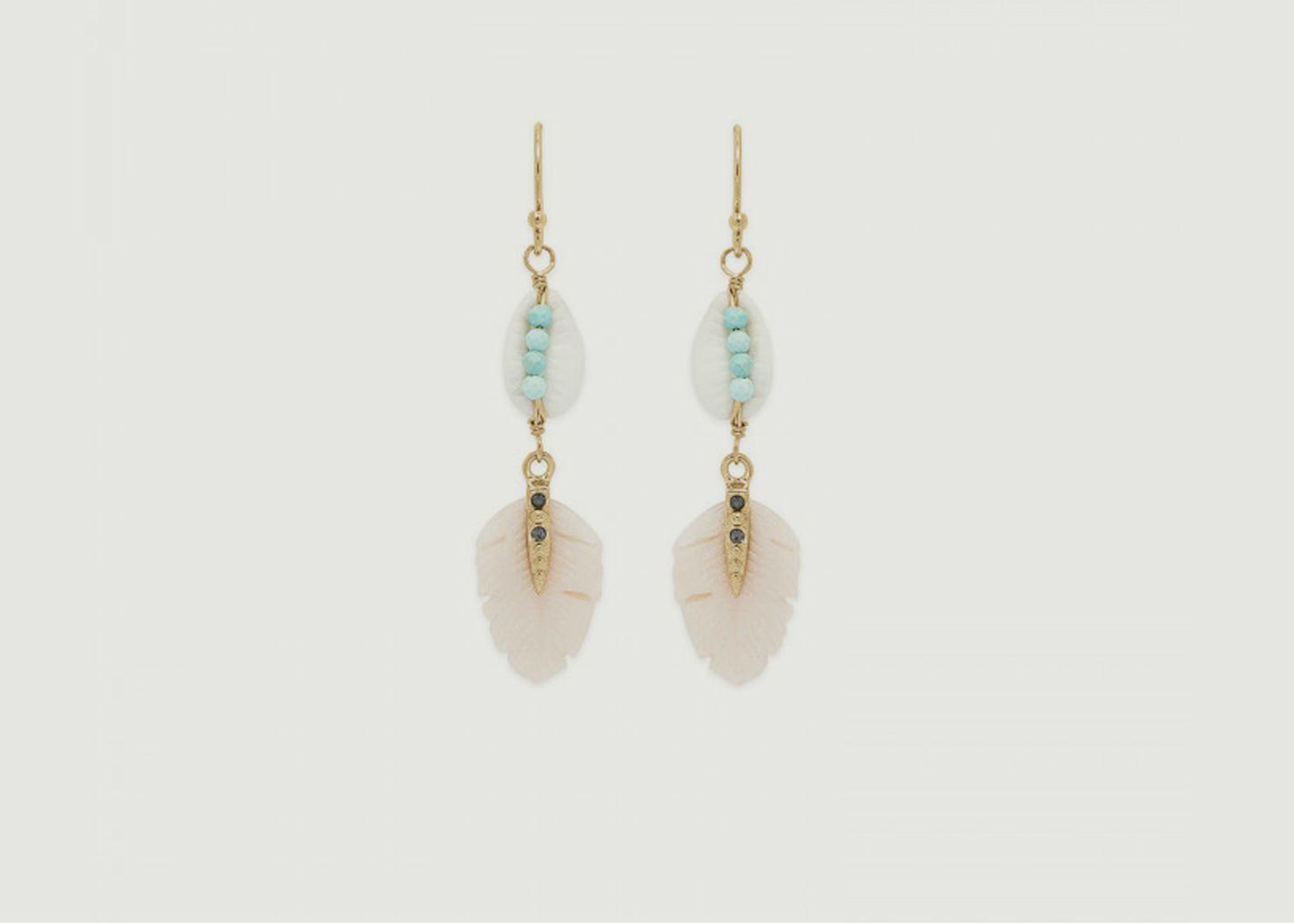 Boucles d'oreilles Kesiah - Hipanema