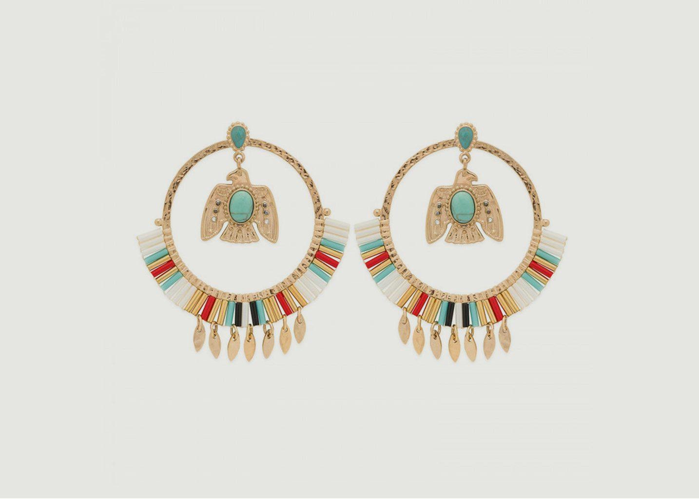 Boucles d'oreilles Santiago - Hipanema