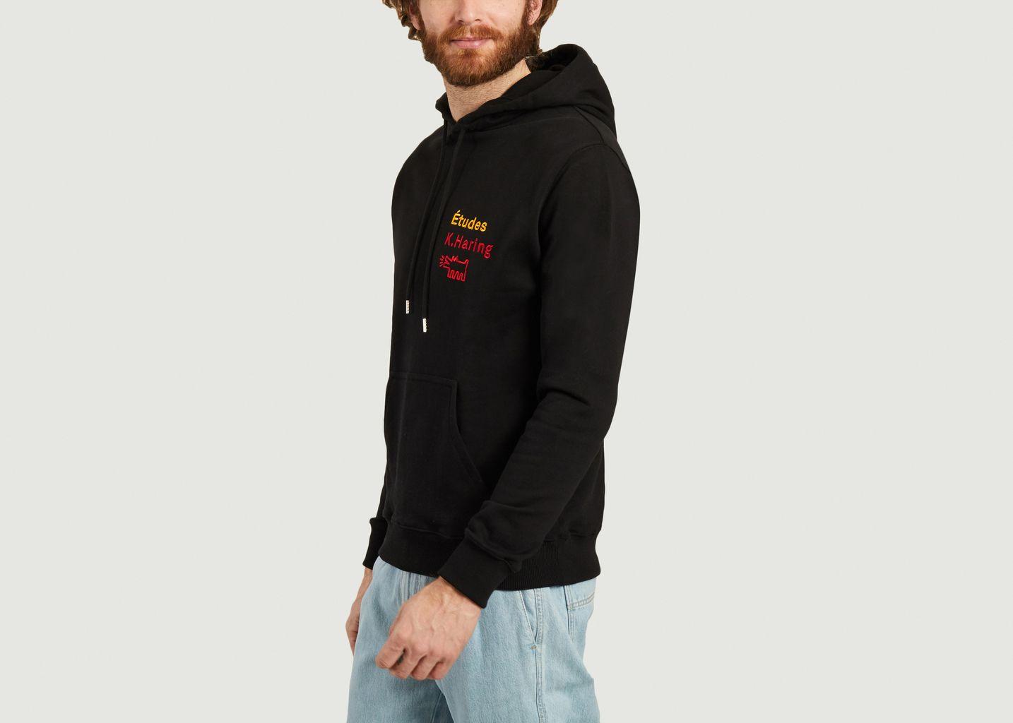 Sweatshirt à capuche Études x Keith Haring - Études