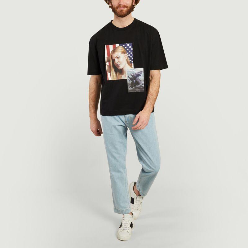 T-Shirt Visage - Études