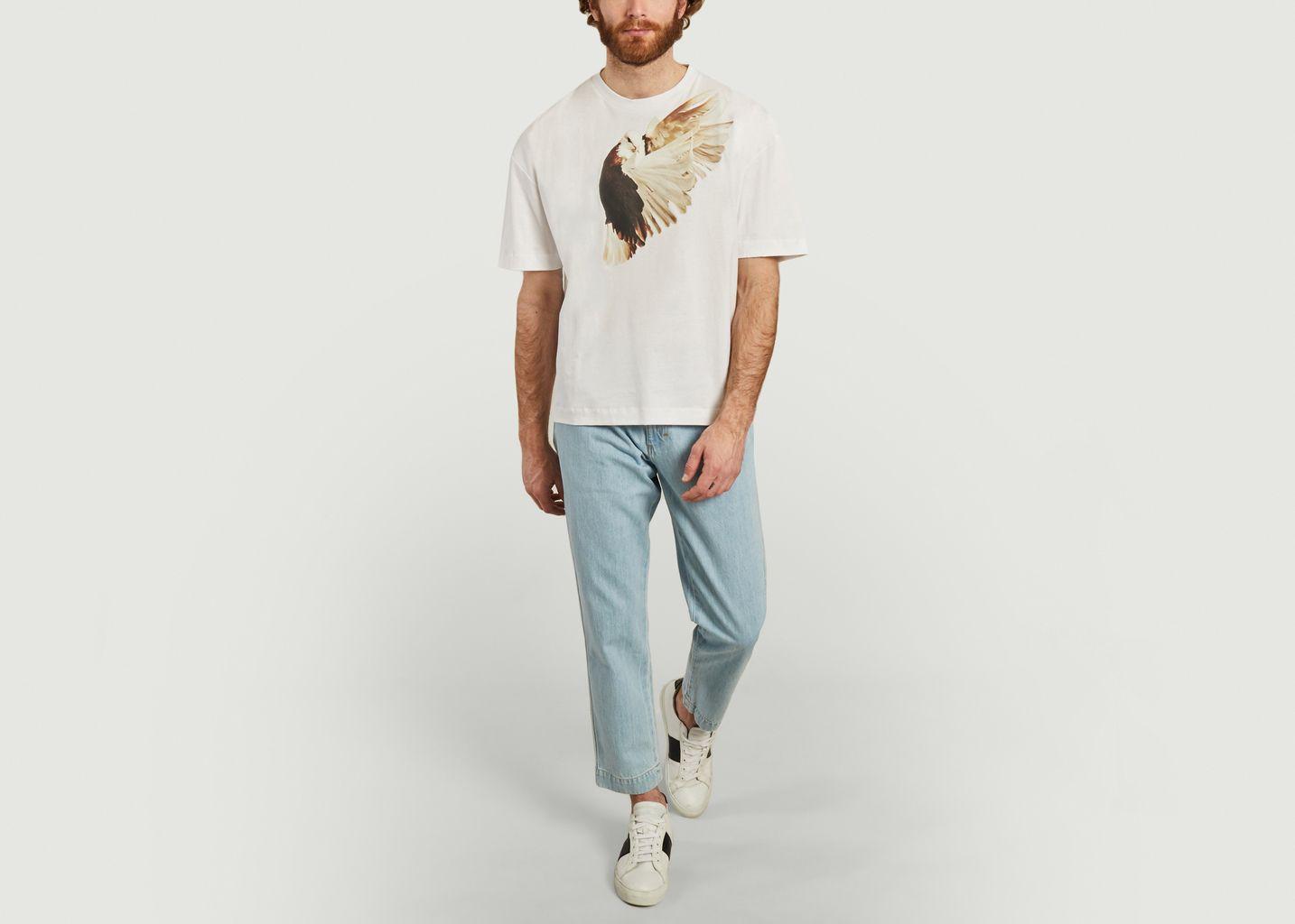 T-shirt Oiseau - Études