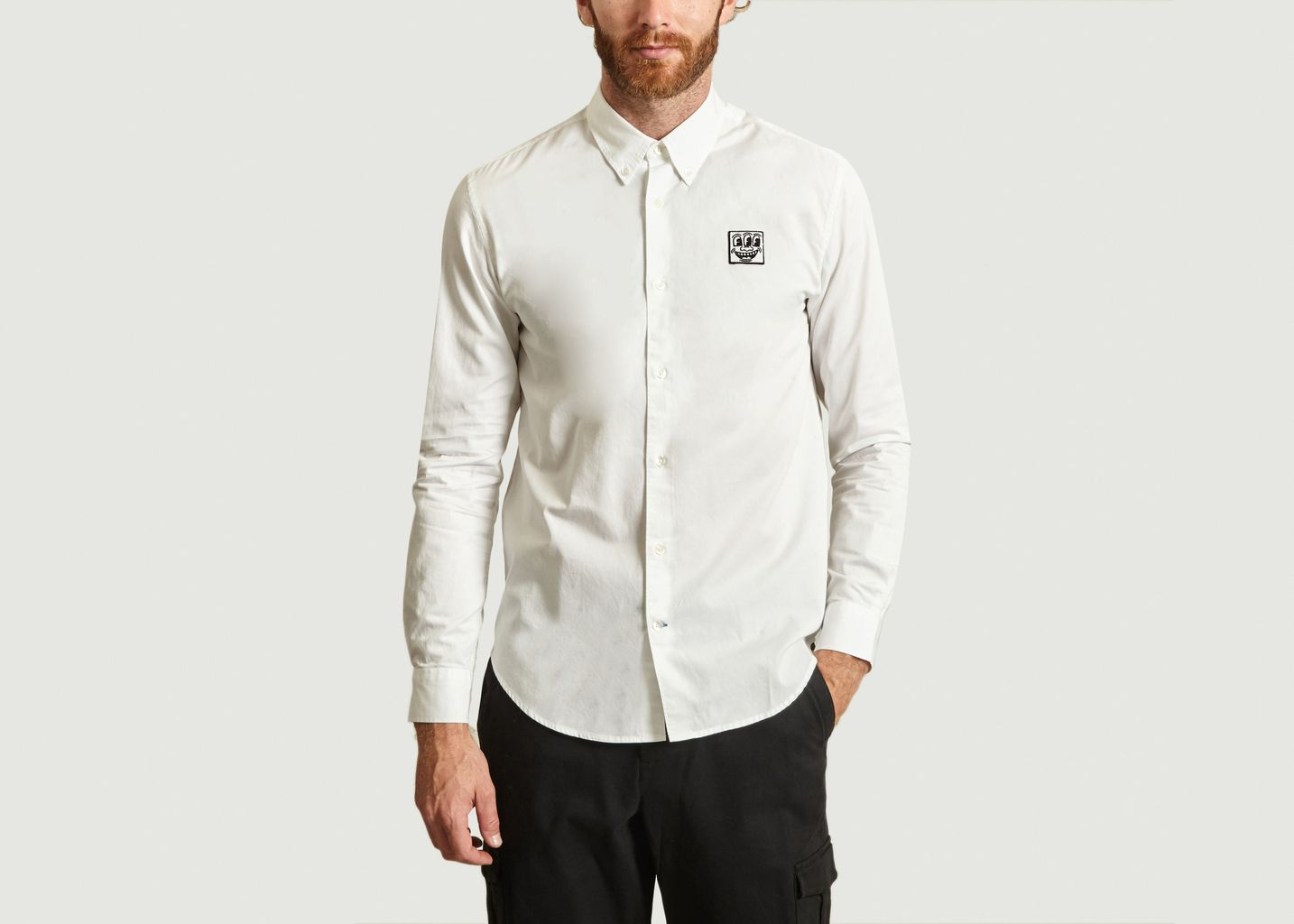 Chemise Info Patch x Keith Haring - Études