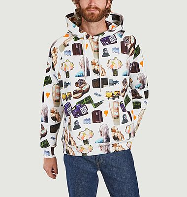 Hoodie Racing all-over MS