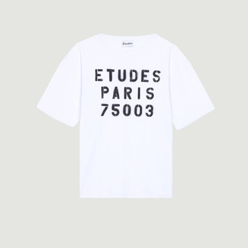T-shirt Museum Stencil - Études
