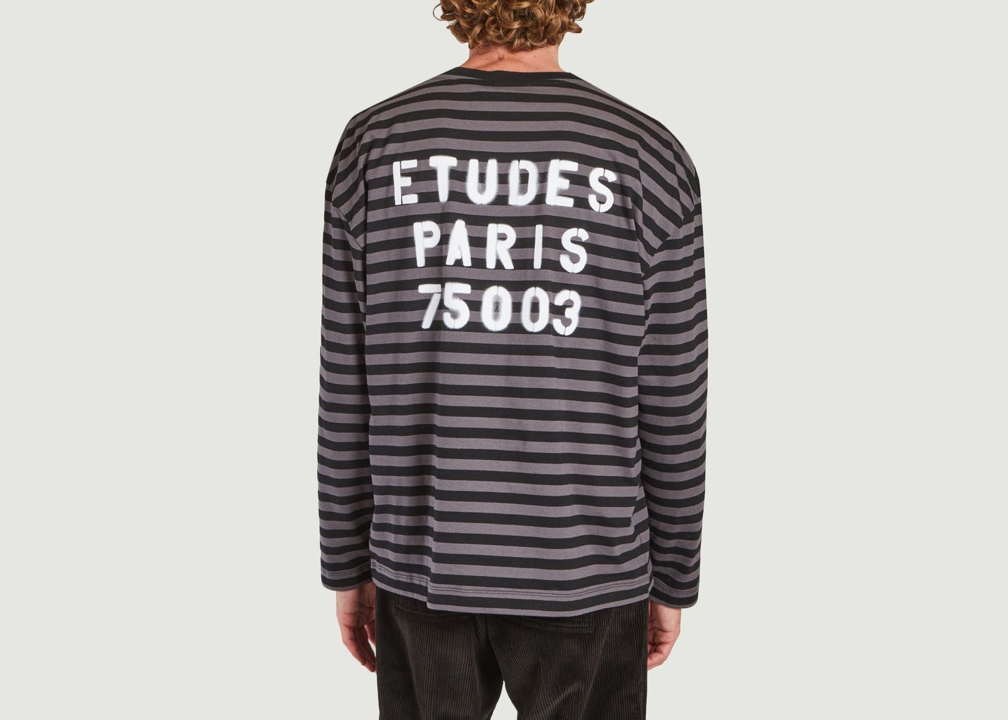 Tee-shirt à rayures  - Études