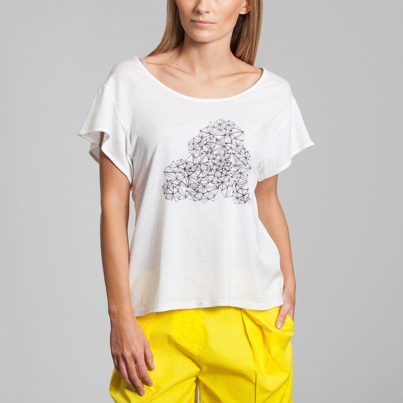 Tshirt Galaxie Cloud - Raphaëlle H'Limi