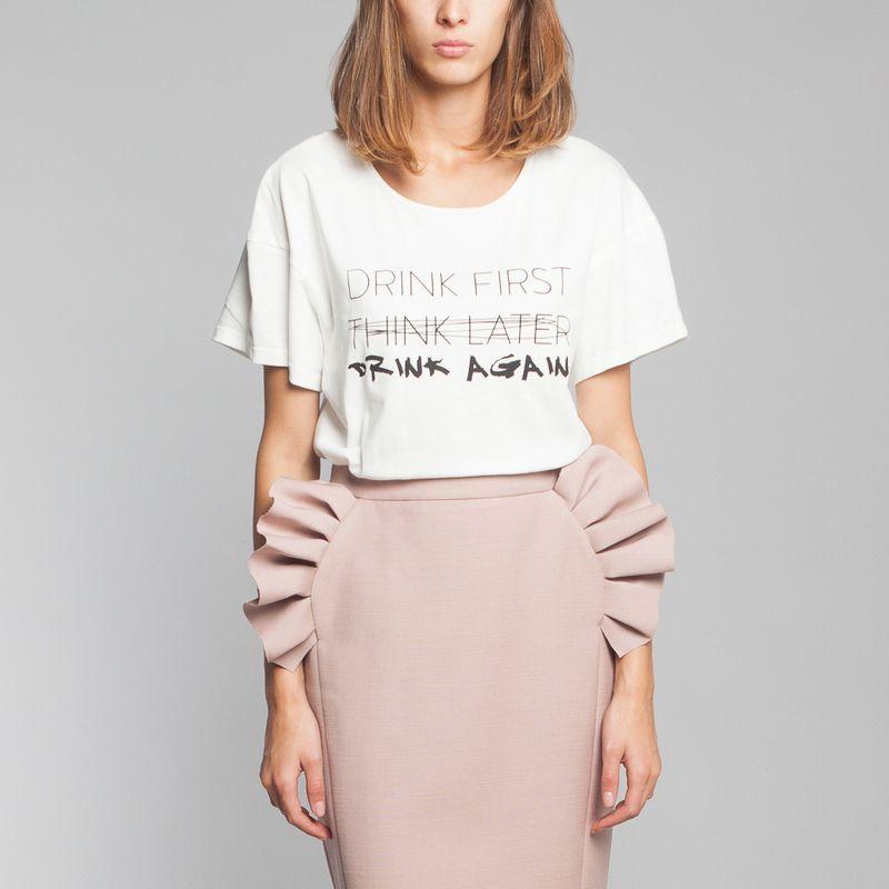 Tshirt Happening Drink - Raphaëlle H'Limi
