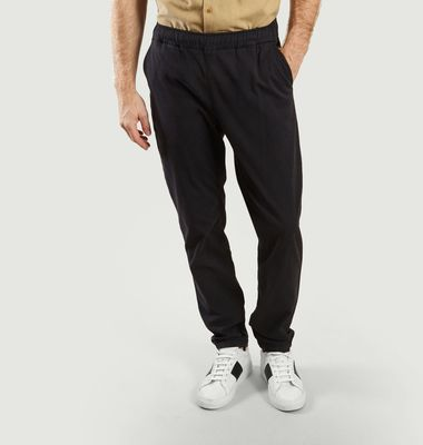 Draw elasticated waist trousers