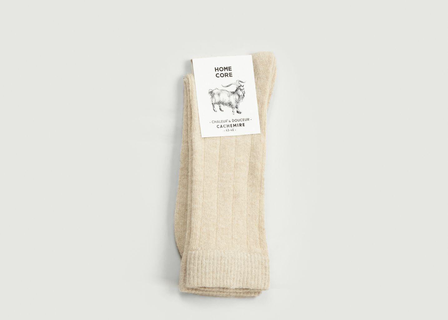 Chaussettes cachemire  - Homecore