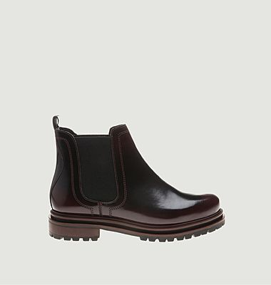 Chelsea boots en cuir verni Wisty