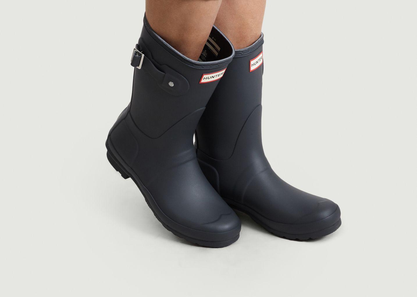Hunter Bottes de pluie pour femme Mat: : Chaussures
