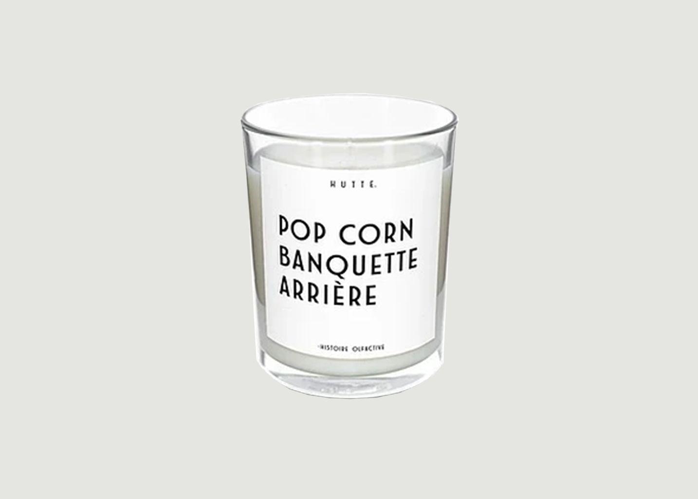 Bougie parfumée Pop Corn - Hutte