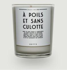 Bougie Parfumée A Poils Et Sans Culotte 190gr
