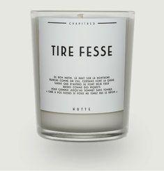 Bougie Parfumée Tire Fesse 190 g