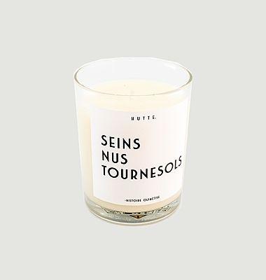 Bougie parfumée Seins Nus Tournesols