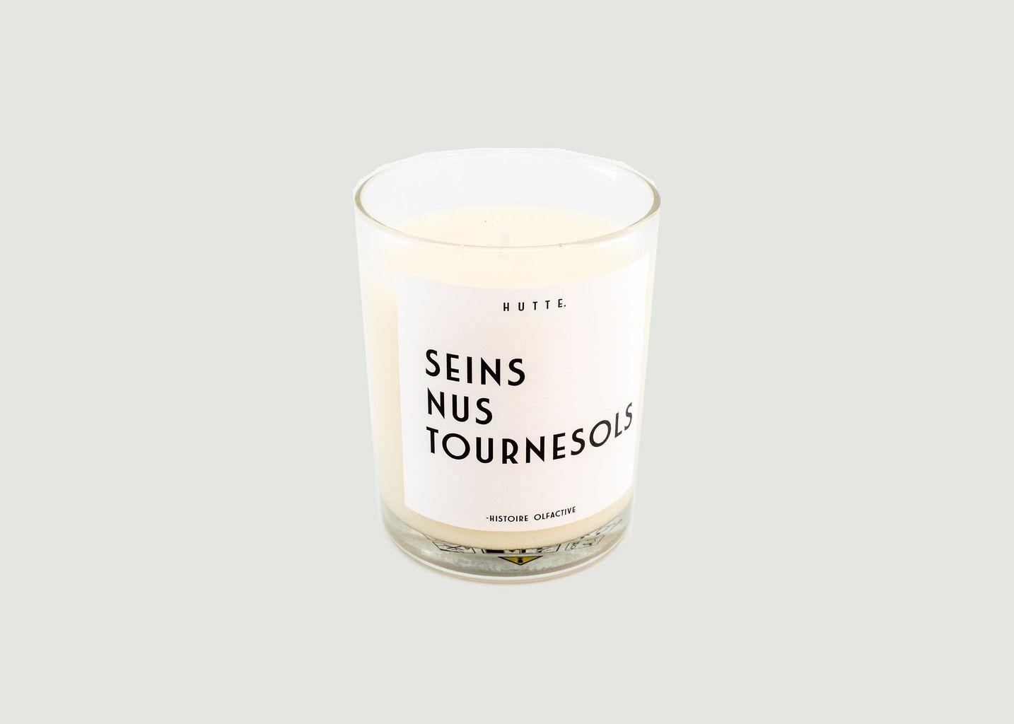 Bougie parfumée Seins Nus Tournesols - Hutte