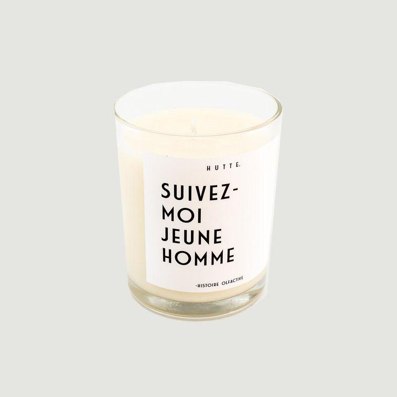 Bougie parfumée Suivez-Moi Jeune Homme - Hutte